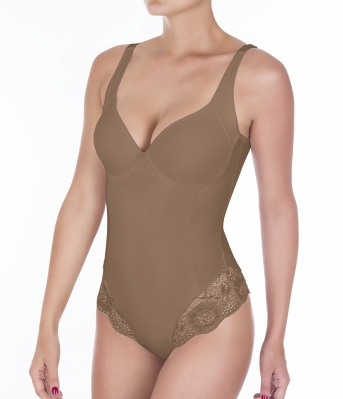 7a21bd891 Body Modelador Dilady Sensual Plus (312570) com Bojo    lingerie.com.br