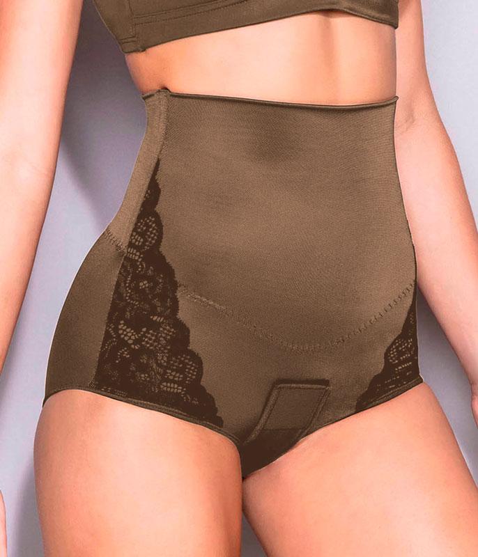 a0dd687fa1 modeladores cintas modeladoras calca cintura alta com renda dilady 323261