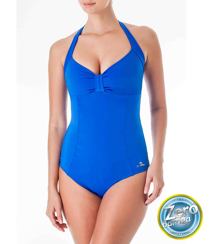 9a2b63de8 Maiô Vintage Zero Barriga Dilady Banho de Mar (601534) :: lingerie ...