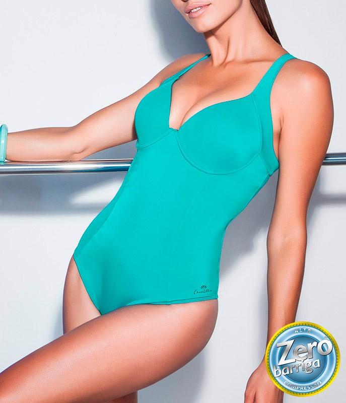 f18e8e5a0 Maiô Zero Barriga Dilady Banho de Mar (601537)    lingerie.com.br