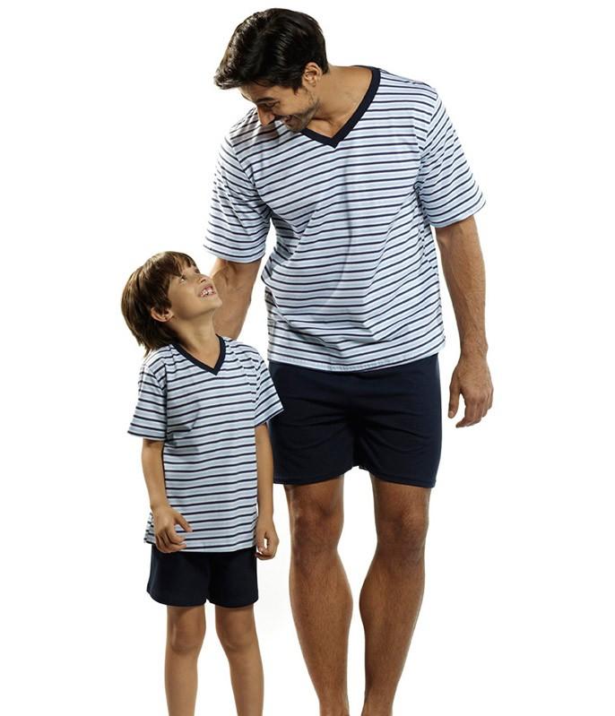 97d486ee6 Voltar Pijama Curto Masculino Listrado Lupo (28021-001) 100% Algodão