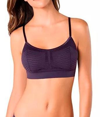 2b7d31a34 Sutiã Top Shine Loba Lupo (41062-001) Sem Costura    lingerie.com.br