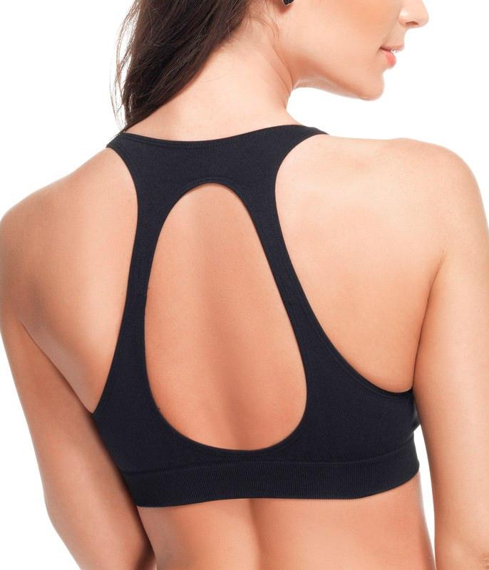 0fae202ab Top Nadador com Abertura Lupo (41305-001) Sem Costura    lingerie.com.br