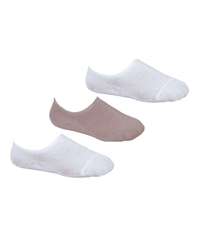 55222b439 meias sapatilha invisivel kit 3 pares de meias sapatilhas lupo 04270 089  branco nude branco