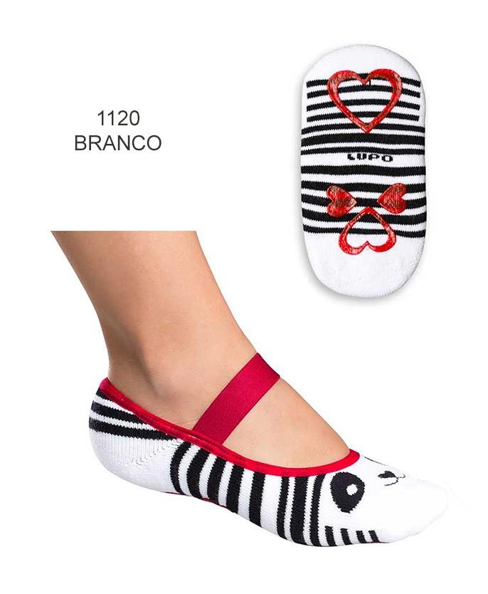 d81bf6bb1 meias sapatilha invisivel meia sapatilha antiderrapante lupo 04945 017