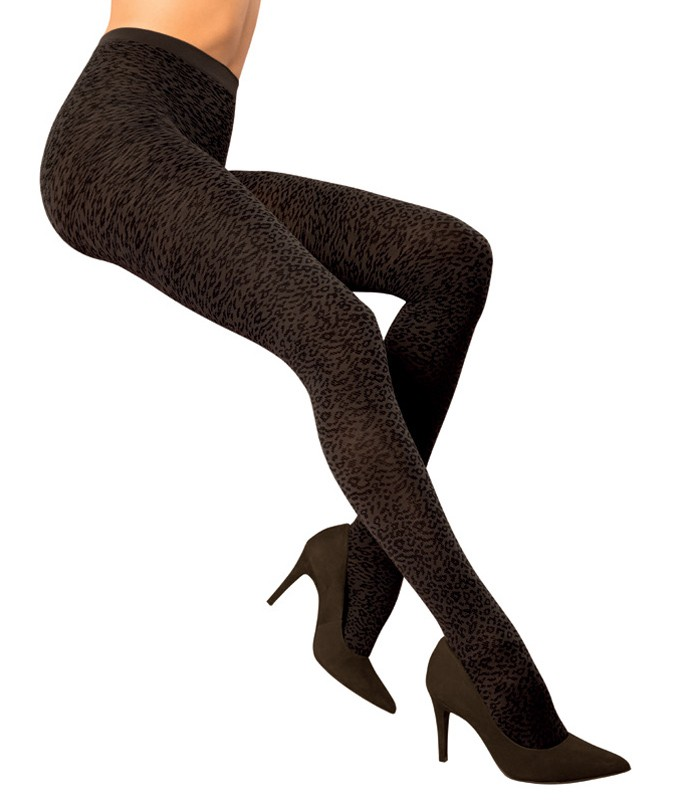 866176712 Meia-calça Oncinha Trend Loba Lupo (05756-001) Fio 70    lingerie.com.br