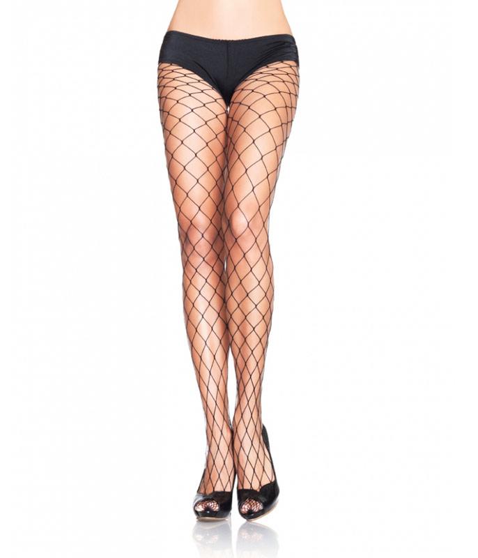 c00dd833c Meia-calça Leg Avenue 9905 - trama arrastão larga    lingerie.com.br
