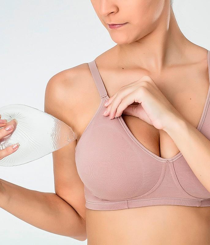 0adbe9ed1 Sutiã Mastectomia Love Secret (811101) Modal    lingerie.com.br