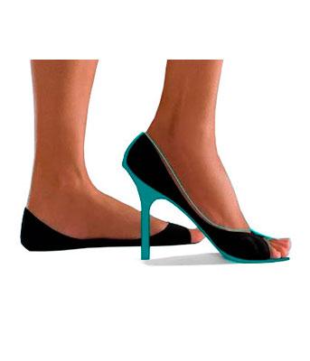 eef870405 meias sapatilha invisivel meia sapatilha peep toe invisivel onfit mini g26  nao aparece