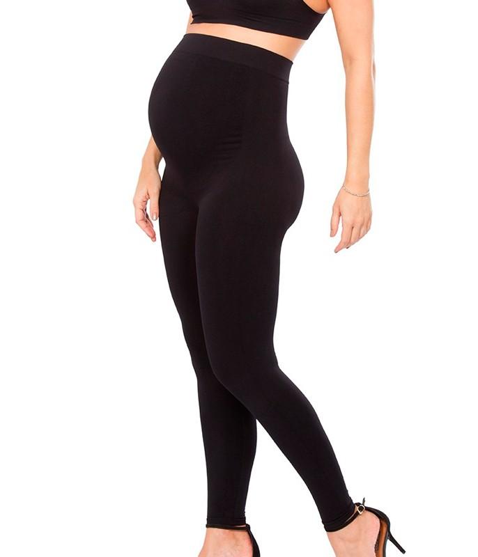 b3eb6b95e Legging Gestante Cintura Alta Plié Maternity (50044)    lingerie.com.br