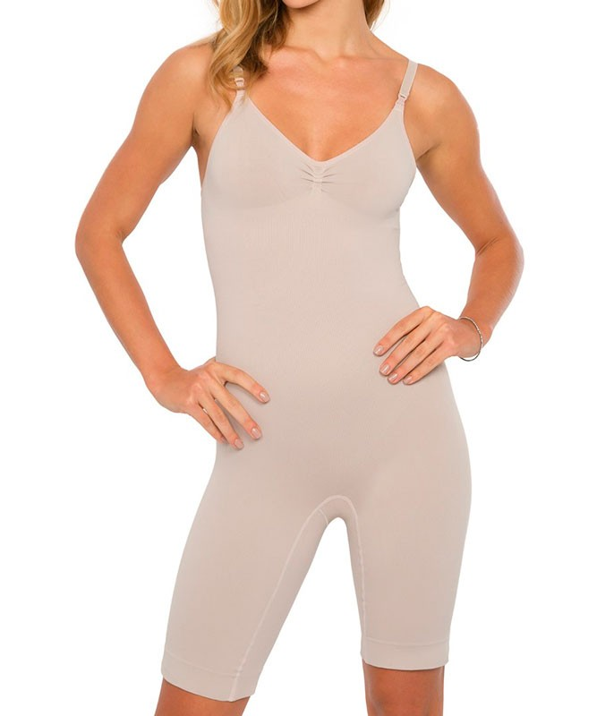 1348d775d Body Modelador Longo Plié Control (50415)    lingerie.com.br