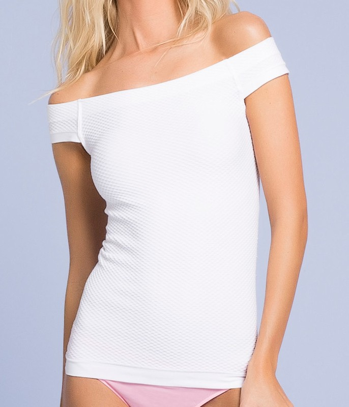 Camiseta Ombro a Ombro Trifil (C00532/0532) Sem Costura