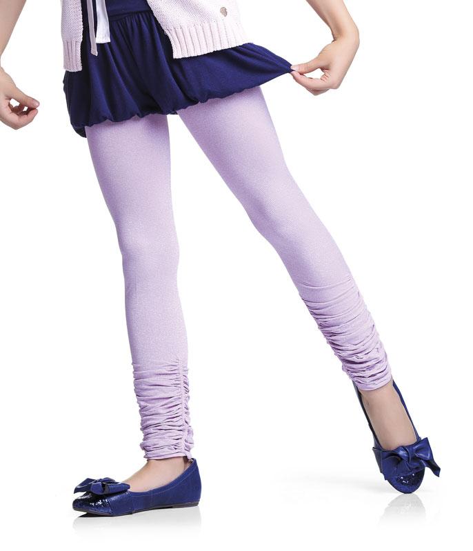 f0040644c Voltar Legging Infantil Brilho de Lurex Trifil (W06752 6752) Fio 80